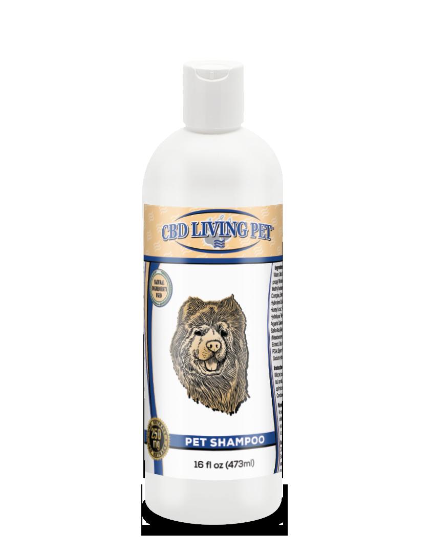 Shampoing au CBD pour chiens à peau sensible